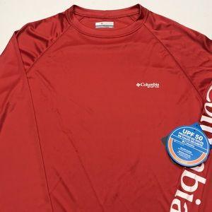 🆕 COLUMBIA PFG Long Sleeve Fishing Jersey Shirt